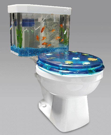 bathroom fish tank fish tank toilet gearfuse