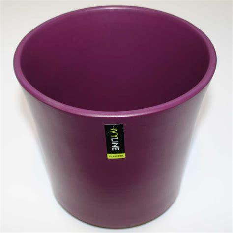 ivyline taupe ceramic plant pot cover