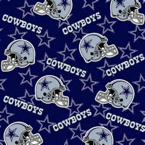 Cd Storage Ideas Nfl Dallas Cowboys Fleece Fabric Walmart Com