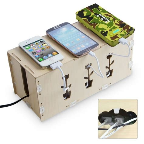 diy wood charging station charging gadgets without the snake pits diy charging