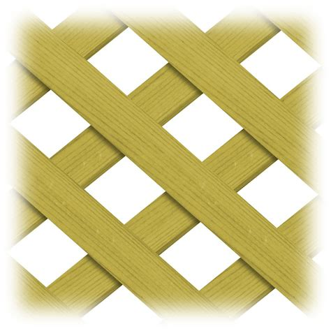proguard treated wood 4x8 regular lattice the home depot