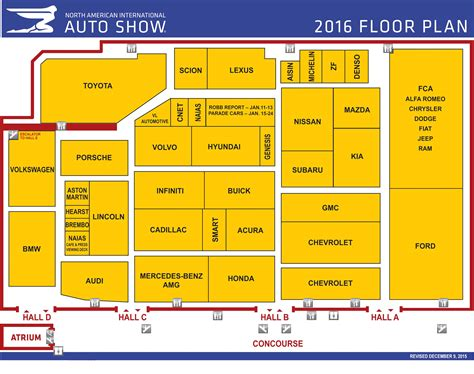 auto floor plan 2016 naias floor plan biz x magazine