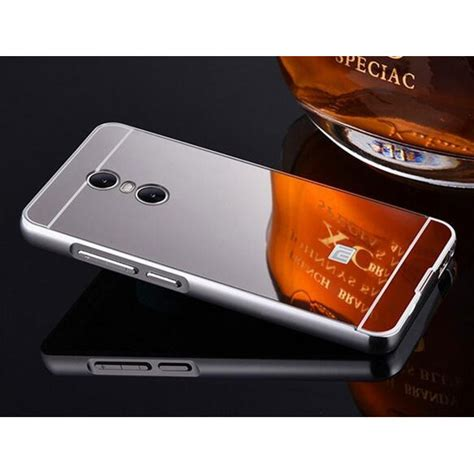 Bumper Mirror Xiomi Note 2 aluminium bumper with mirror back cover for xiaomi redmi note 4 silver jakartanotebook