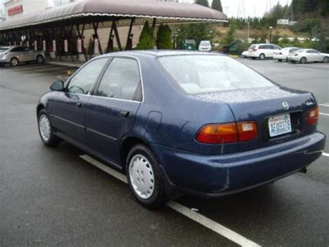Honda Civic Lx 95 For Less Than 3000 In Wa State