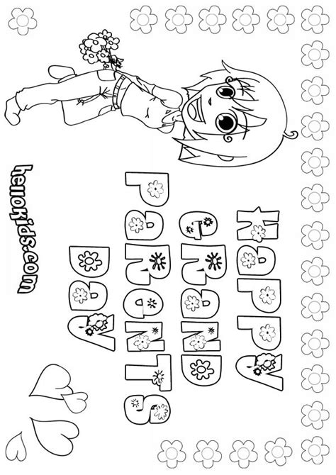 happy birthday coloring pages for grandparents happy grandparents day coloring pages hellokids com
