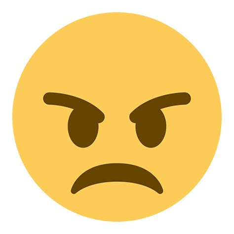 emoji angry angry face emoji for facebook email sms id 39