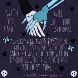 19 incorporate the corpse bride wedding vows into your own