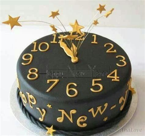new year fondant cake happy new year cake fondant ideas
