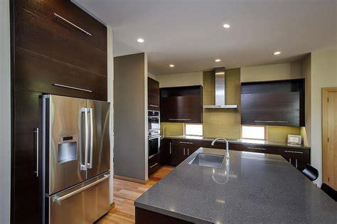 kitchens interiors luxury prefabricated modern home d 233 coration de la maison