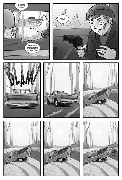 Post Apocalypse Comic Squarespace Comic Template