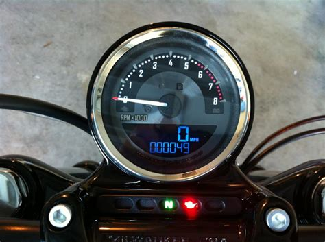 Harley Davidson Tachometer by Combo Speedo Tach On 2006 Harley Davidson Forums