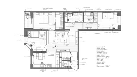 modern apartment floor plans four apartments from st petersburg s int2 architecture