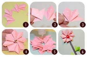 Handicrafts With Paper - easy paper handicrafts step by step search