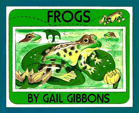frog picture books frogs cycle book for