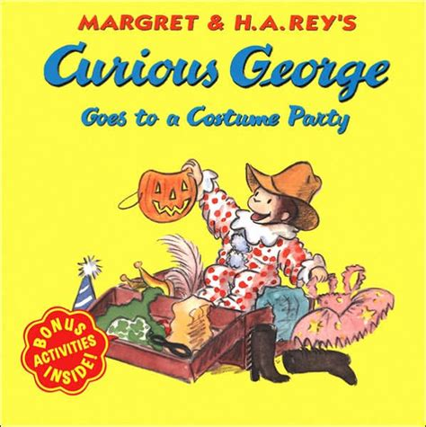libro a curious guide to curious george goes to a costume party by h a rey martha weston paperback barnes noble 174