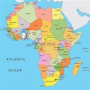 africa map by country africa map countries and capitals search when