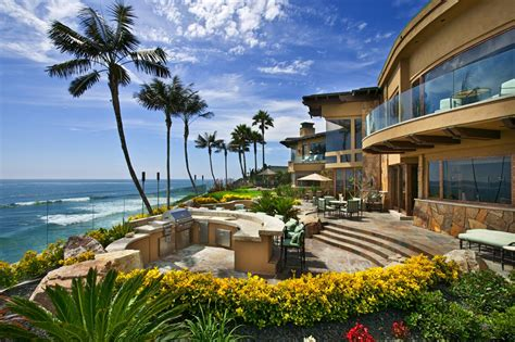 beachfront house in california trophy oceanfront estate in carlsbad ca homes of the rich