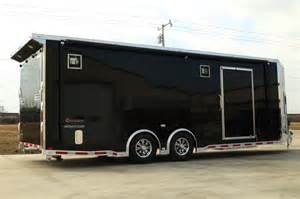 Enclosed Landscape Trailers by 30 Custom Snowmobile Trailer Snowmobile Trailers For