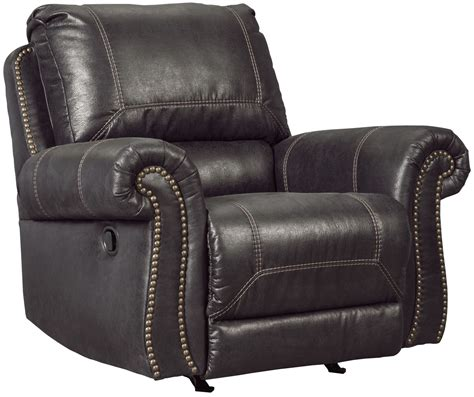 black rocker recliner milhaven black rocker recliner from ashley coleman furniture