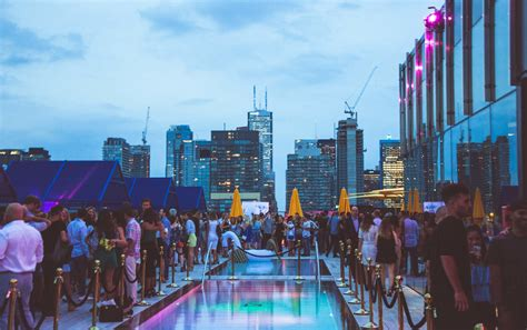 top bars toronto introducing lavelle toronto s newest rooftop restaurant and pool lounge experience