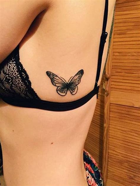 tattoo on their ribs butterfly tattoo on rib butterfly tattoo ideas meaning