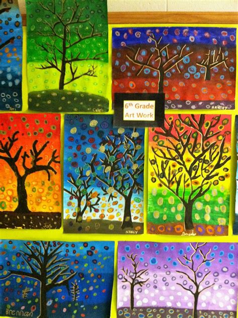 6th grade activities on pinterest 715 pins 6th grade patterned tree designs i found inspiration for