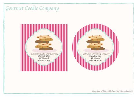 design label cookies 66 professional label designs for a business in united