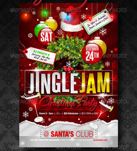 Christmas Club Flyer Template