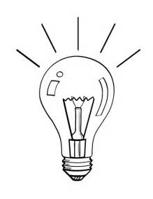Free Light Bulb Coloring