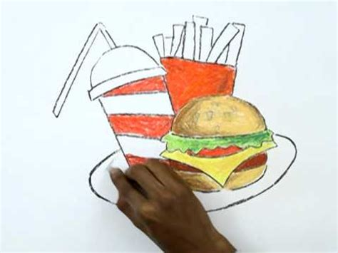 disable mat step how to draw a junk food