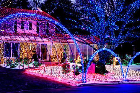 Colorful Bright Christmas Decorations Pictures Photos Amazing Lights On Houses