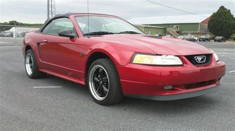 buy car manuals 2000 ford mustang engine control purchase used 2000 ford mustang gt convertible 2 door 4 6lv8 manual transmission clean carfax