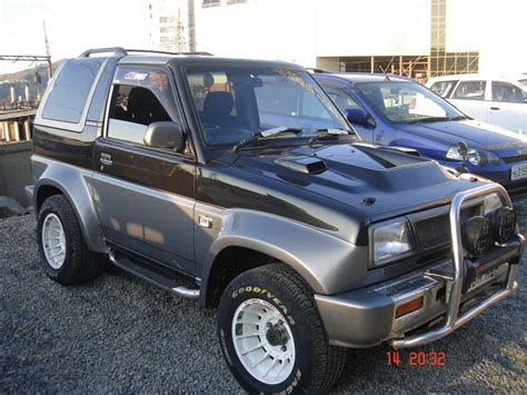 1990 daihatsu rocky 1990 daihatsu rocky for sale 1600cc gasoline manual