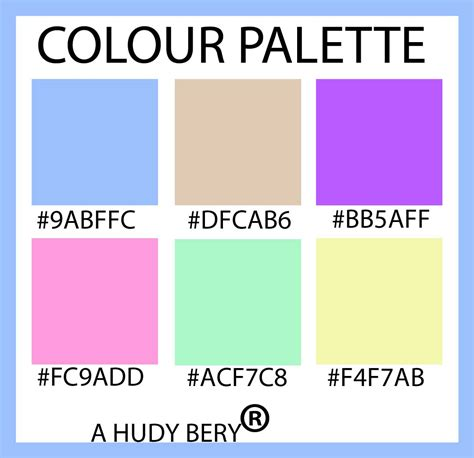 baby colors blue pink light green yellow and lavender purple