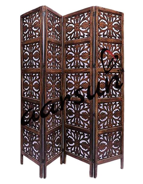 handcrafted wooden partition room divider aarsun woods wooden room divider by online aarsun woods