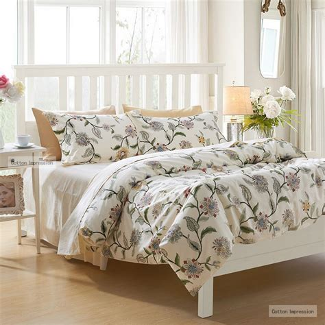 bed sheets sale reactive printing flower bedding set king queen twin size