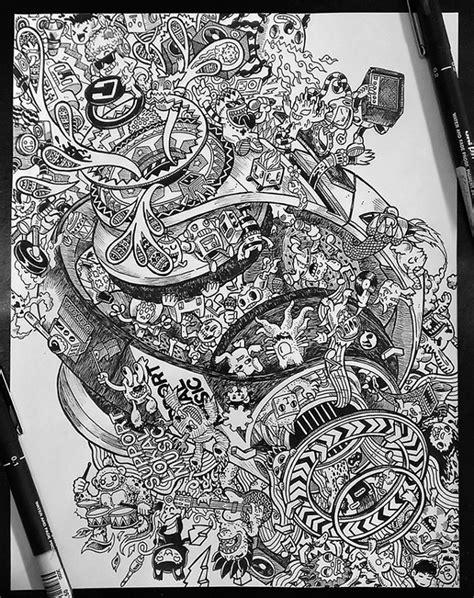 35 imaginative doodle art designs free premium templates