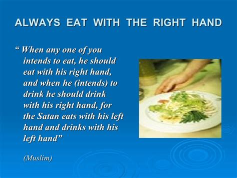 With The Proper etiquette of
