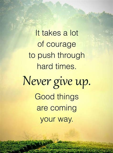 Inspirational life Quotes: Never Give Up 'Be Patient Good ...