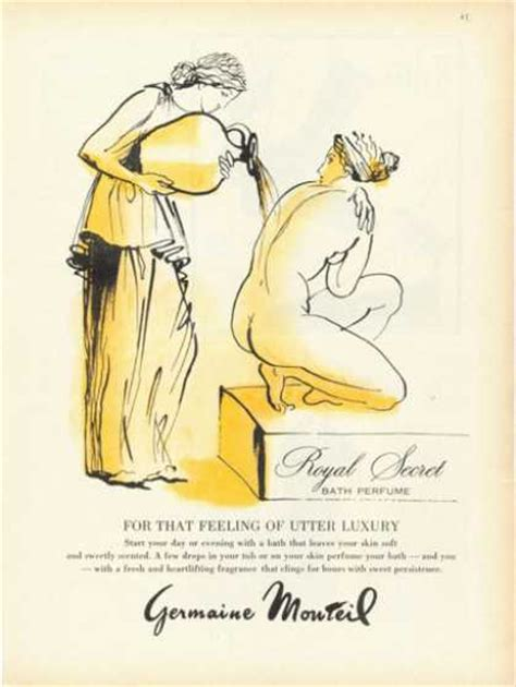 Parfum Secret 1961 by Vintage Perfume Ads Of The 1960s Page 12