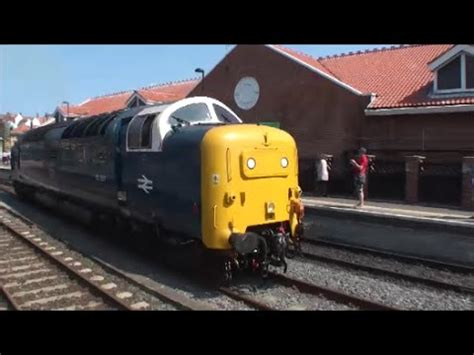 nymr 'deltic to whitby' with 55007 'pinza' : youtube
