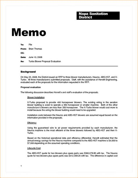 Business Letter Vs Memo Business Memo Exle Contract Template Sle Memorandum Business Letter Vs Memo Letter Sle