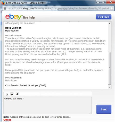 Search Ebay Seller By Email Ebay Search Engine Problems The Ebay Community
