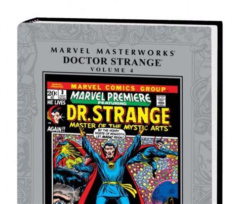 The Strange Library Ushardback marvel masterworks doctor strange vol 4 hardcover comic books comics marvel
