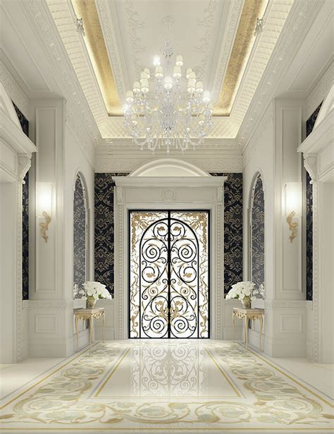 Luxury Home Interior Designers | luxury interior design for an entrance lobby by ions