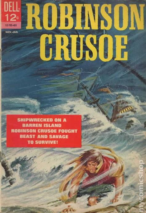 robinson crusoe books robinson crusoe 1964 comic books