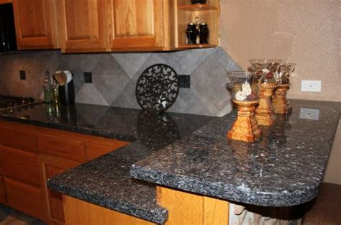 backsplash ideas for blue pearl granite american countertop fabricators gallery 61 photos get