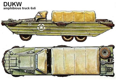 duck boat exhaust dukw weapons and warfare