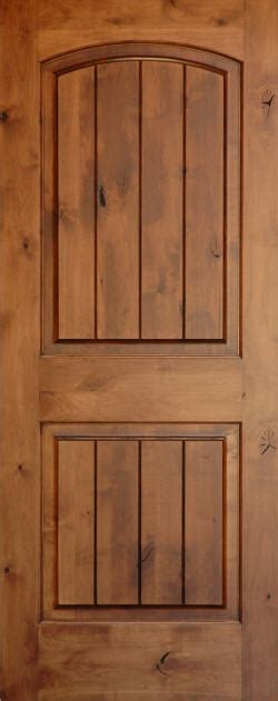 Home Depot Interior Doors Sizes Knotty Alder Arch 2 Panel Doors With V Grooves Homestead
