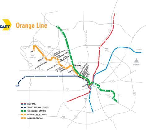 line map dart org orange line map